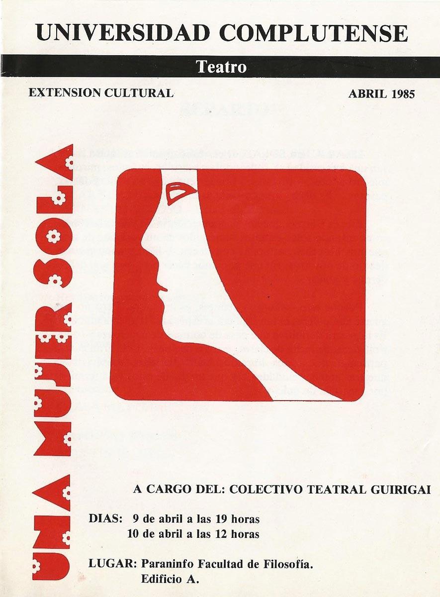 1981-Una-mujer-sola-guirigai-cartel-01